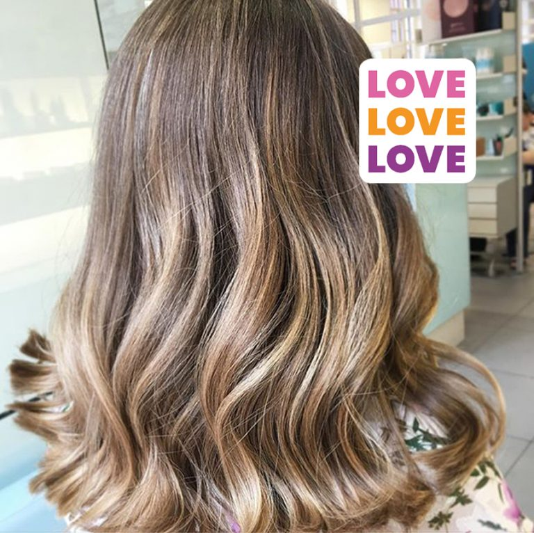 Our Balayage Love Affair ❤✨♥💖